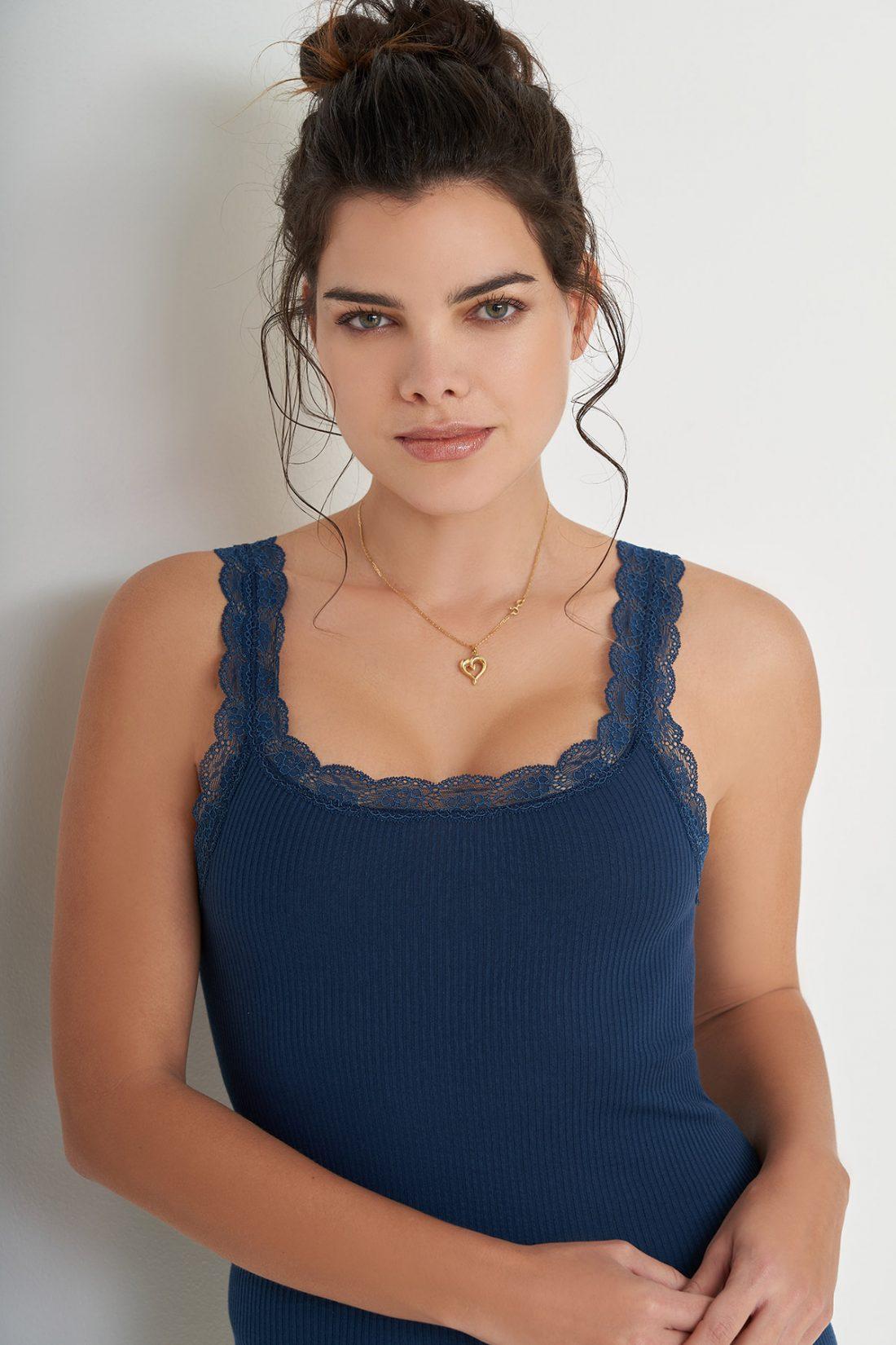 Love Canotta Laura 44399 blu